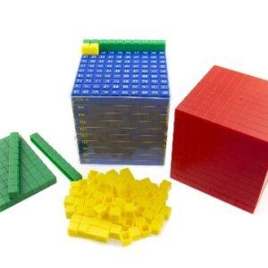 Одиниці об'єму - математичний куб
