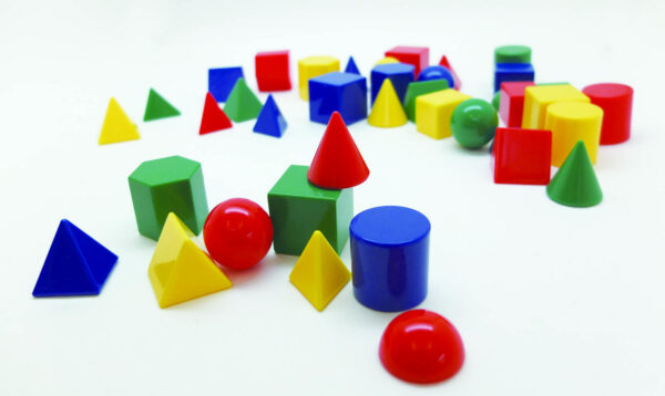 Набор моделей геометрических тел
