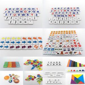 Комплекти роздаткових дидактичний карток