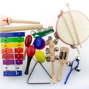 малый набор музыкальных инструментов